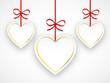 ETIQUETTES COEURS (je t'aime fête amoureux saint valentin carte)