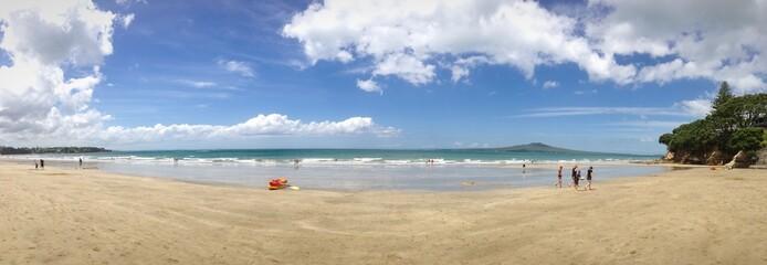 takapuna beach in Auckland