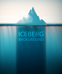 Iceberg background