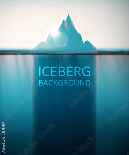 Tło lodowej