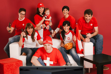 Swiss sports fans excited about the game