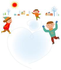 겨울배경 7