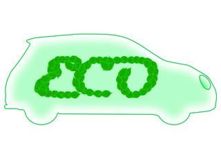 Macchina ecologica nel rispetto dell'ambiente