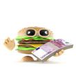 Burger has Euros