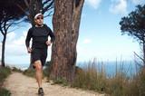 Fototapeta trail runner