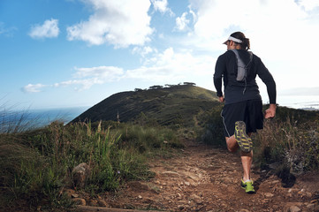 trail man run