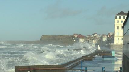 grosses vagues sur Wimereuw