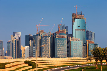 QP District, Situated in the West Bay area of Doha, Qatar