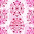 Seamless valentine pink grunge pattern