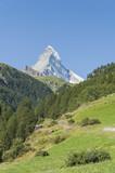 Zermatt, Wallis, Schweizer Alpen, Matterhorn, Furi, Schweiz poster