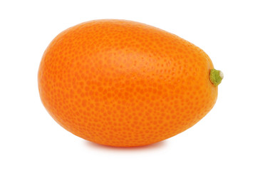 One whole kumquat (isolated)