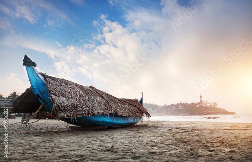 Fishing boat in India