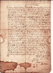 stary ręcznie pisany łaciną dokument rejenta notariusz