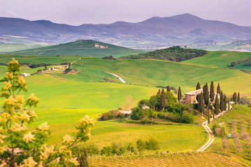 Italian Landscape, Tuscany