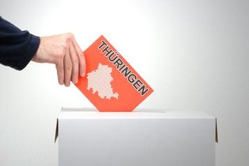 In Thüringen wird gewählt
