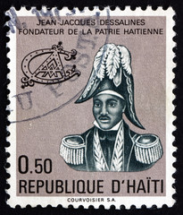 Postage stamp Haiti 1977 Jean-Jacques Dessalines