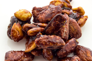 Caramelized almonds from Italy