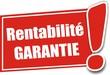 étiquette rentabilité garantie