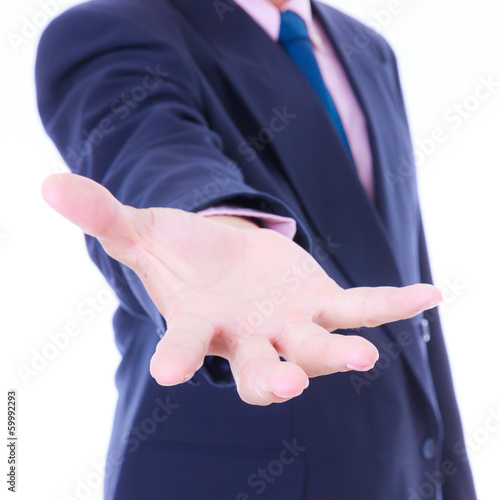 business man hand
