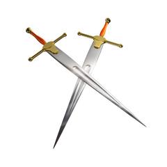 Schwert Gekreuzt