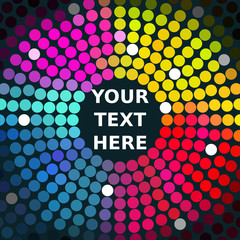 Sample Text Vector grafik