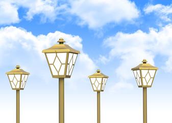 Die Gartenlampen