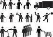 Human pictograms activities