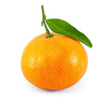 Fresh juicy tangerine