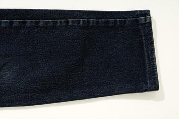 Jeans scuri orlo