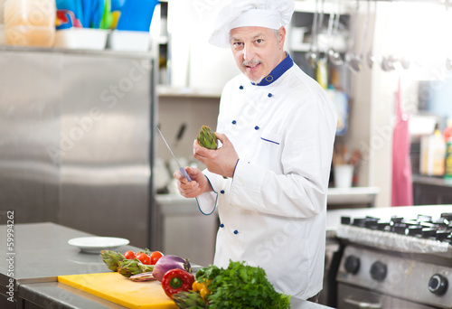 Chef at work