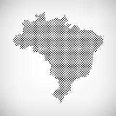 Brasilien Karte Punkte