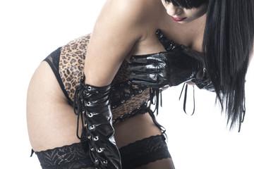 Fetish Model Posing