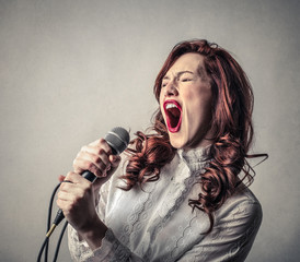 Singing Hard