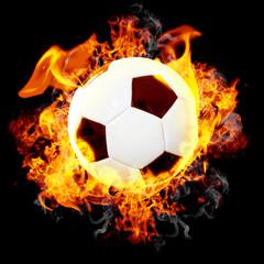 Fireball - Brennender Fußball