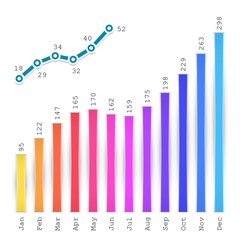 Infographics Graph