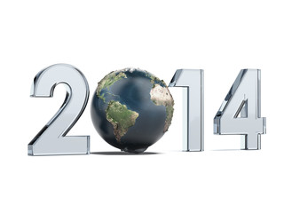 Year 2014  and Earth as zero