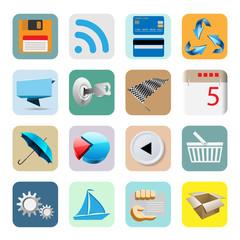 Illustration Web Icons