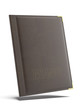 Brown leather Menu folder - 59999401