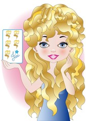 hairstyle free card