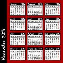 kalender 2014 II