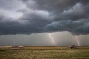 Prairie Storm Clouds