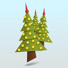 christbaum dreiecke III