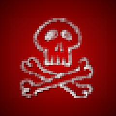 pixel veirecke totenkopf I
