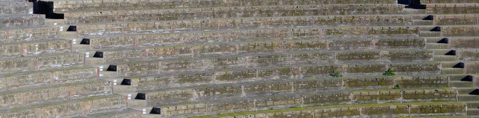 Амфитеатр Помпеи, древнеримский город, всемирное наследие ЮНЕСКО