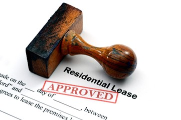 Residential lease - approved