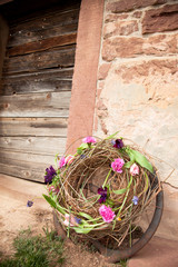 spring flower decoration