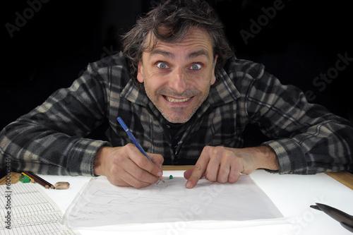 Poster smiling animator