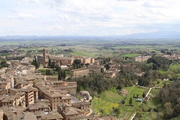 View of Sienna from the Top - Europe