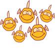 Funny Comic Fishs
