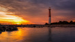 Barnegat Lighthouse at sunset - 60006852